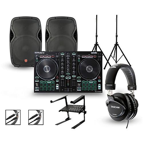DJ-202 with Harbinger V1015 DJ Package