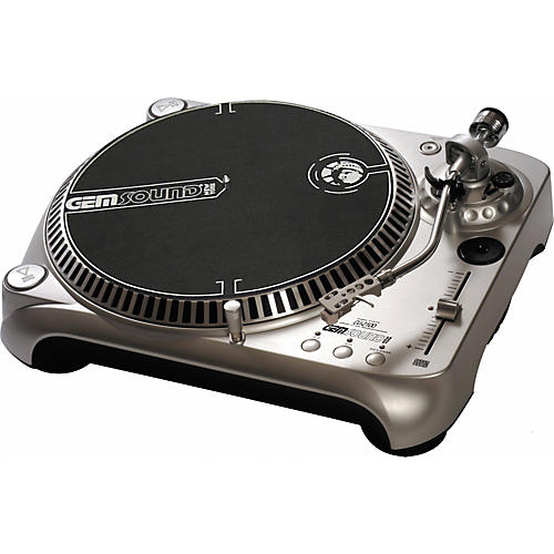 Gem Sound DJ-2100 Professional Direct Drive Turntable