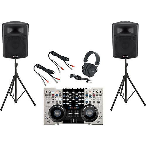 Hercules DJ DJ 4Set / Harbinger APS15 DJ Package