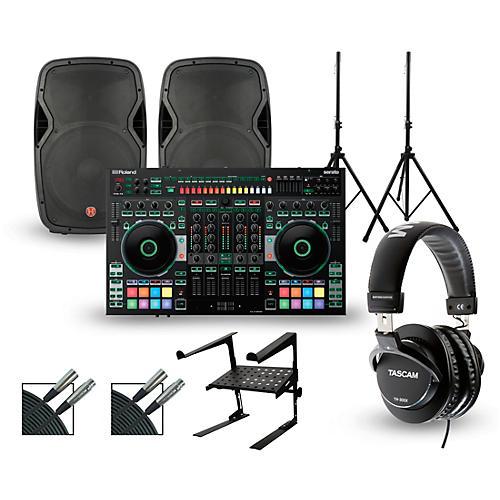 Roland DJ-808 with Harbinger V1015 DJ Package