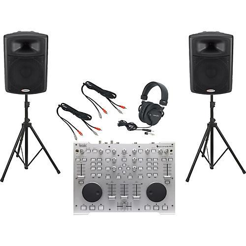 Hercules DJ DJ Console RMX / Harbinger APS15 DJ Package