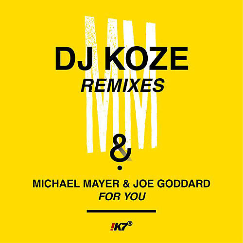 Alliance DJ Koze - For You (dj Koze Remixes)