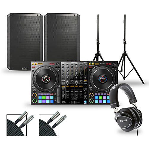 Pioneer DJ Package with DDJ-1000 Controller and Alto TS3 Series Speakers 15