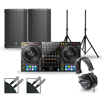 Pioneer DJ Package with DDJ-1000 Controller and Mackie Thump Series Speakers
