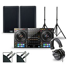 DJ Package with DDJ-1000 Controller and QSC K.2 Series Speakers 8