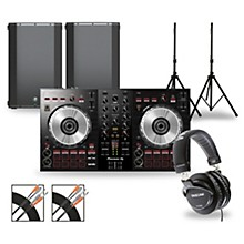 DJ Package with DDJ-SB3 Controller and Mackie Thump Boosted Speakers 15