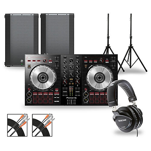 Pioneer DJ Package with DDJ-SB3 Controller and Mackie Thump Boosted Speakers 15