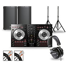 DJ Package with DDJ-SB3 Controller and Mackie Thump Series Speakers 12