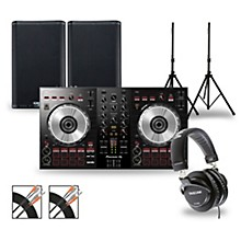 DJ Package with DDJ-SB3 Controller and QSC K.2 Series Speakers 8