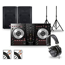 DJ Package with DDJ-SB3 Controller and VaRi V2200 Series Speakers 12