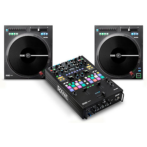 DJ Package with SEVENTY Battle Mixer and TWELVE Motorized Controllers