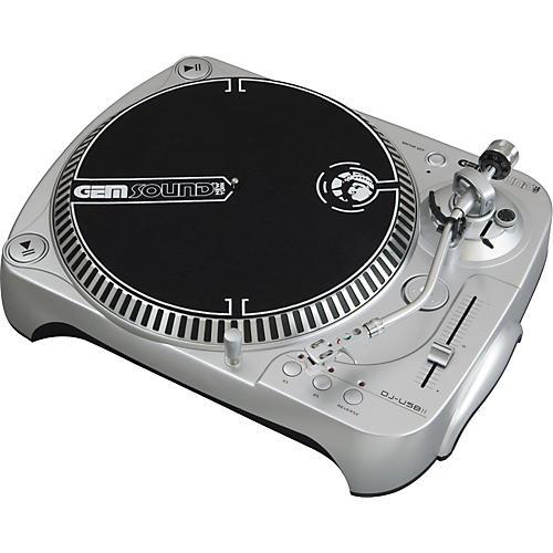 Gem Sound DJ-USB II Belt-Drive USB Turntable