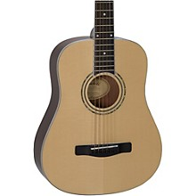 Open Box Mitchell DJ120 Travel Size Dreadnought Acoustic Guitar