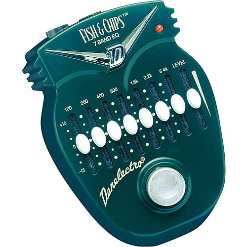 danelectro dj14 fish and chips 7 band eq pedal musician 39 s friend