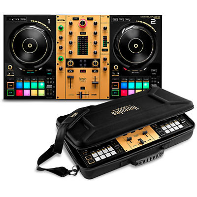 Hercules DJ DJControl Inpulse 500 2-channel DJ Controller in Limited-Edition Gold