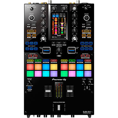 Pioneer DJM-S11 2-Channel Battle Mixer for Serato DJ & rekordbox With Performance Pads