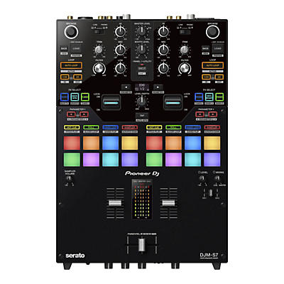 Pioneer DJM-S7 2-Channel Battle Mixer for Serato DJ & rekordbox With Performance Pads
