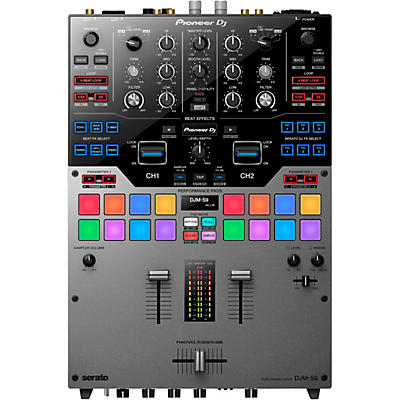 Pioneer DJM-S9 Limited Edition Silver 2-Channel Battle Mixer for Serato DJ Pro