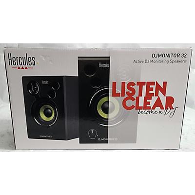 Hercules DJ DJMONITOR32 Powered Monitor