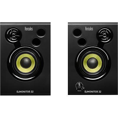 "Hercules DJ DJMonitor 32 3"" Powered Studio Monitors (Pair)"