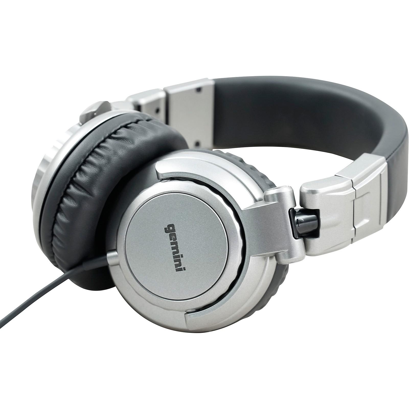 Gemini DJX-500 Professional DJ Headphones
