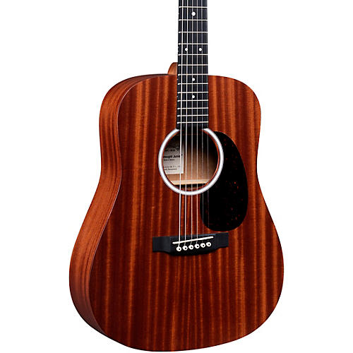 martin djr 10e sapele top dreadnought junior acoustic electric guitar natural musician 39 s friend. Black Bedroom Furniture Sets. Home Design Ideas