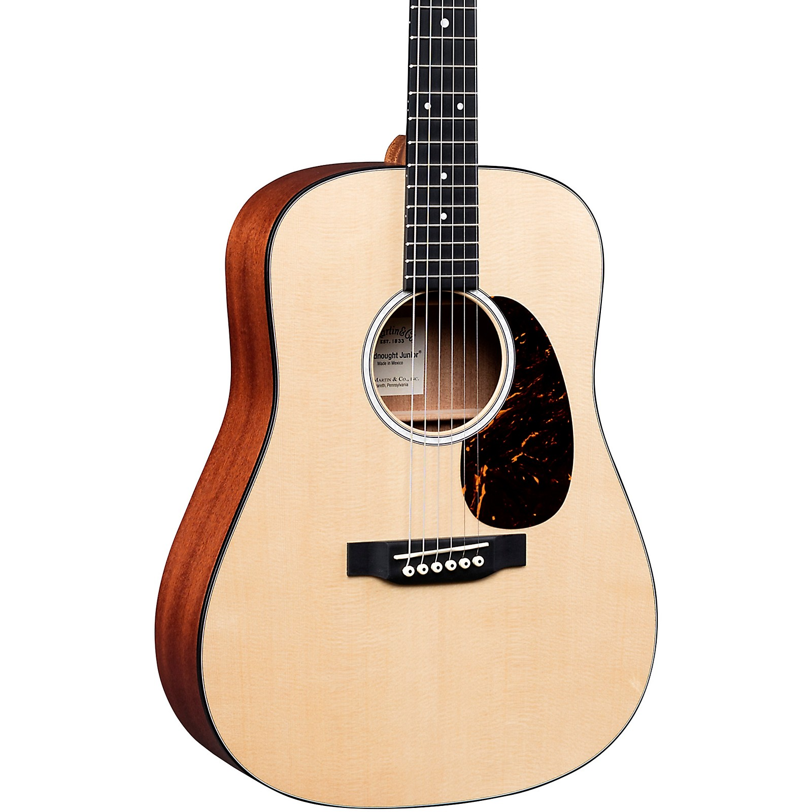 Martin DJr-10E Sitka Top Dreadnought Junior Acoustic-Electric Guitar