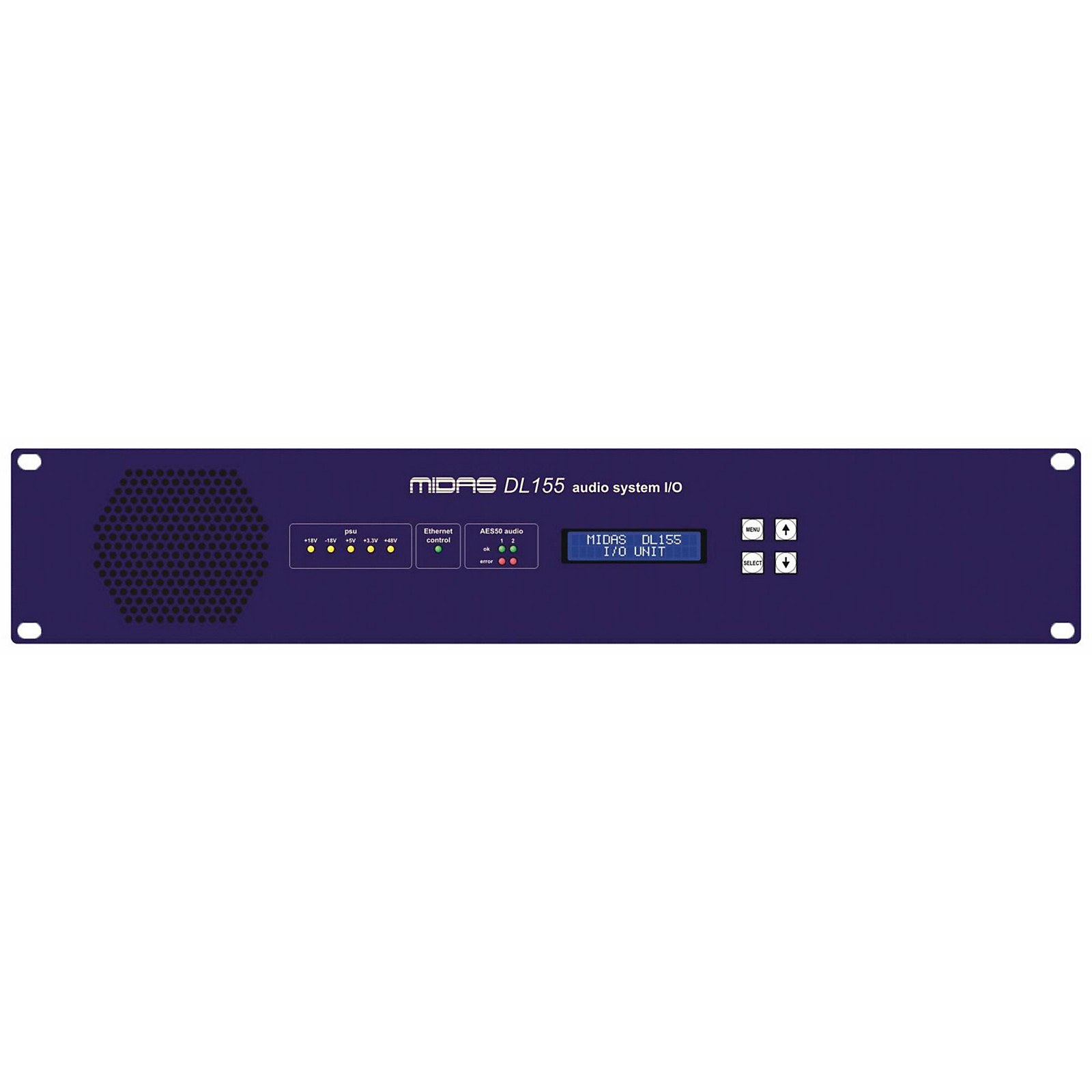 Midas DL155 16-Input 16-Output Stage Box