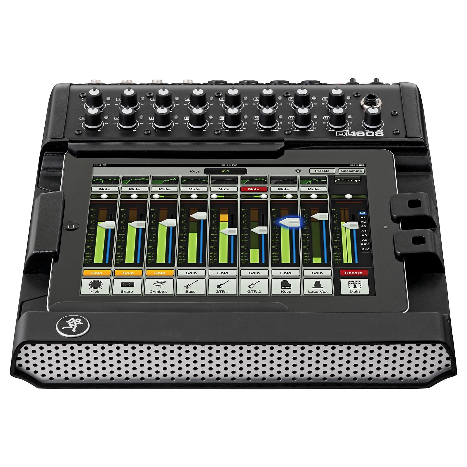 Mackie DL1608L Lightning 16-channel Digital Live Sound Mixer w/ iPad Control