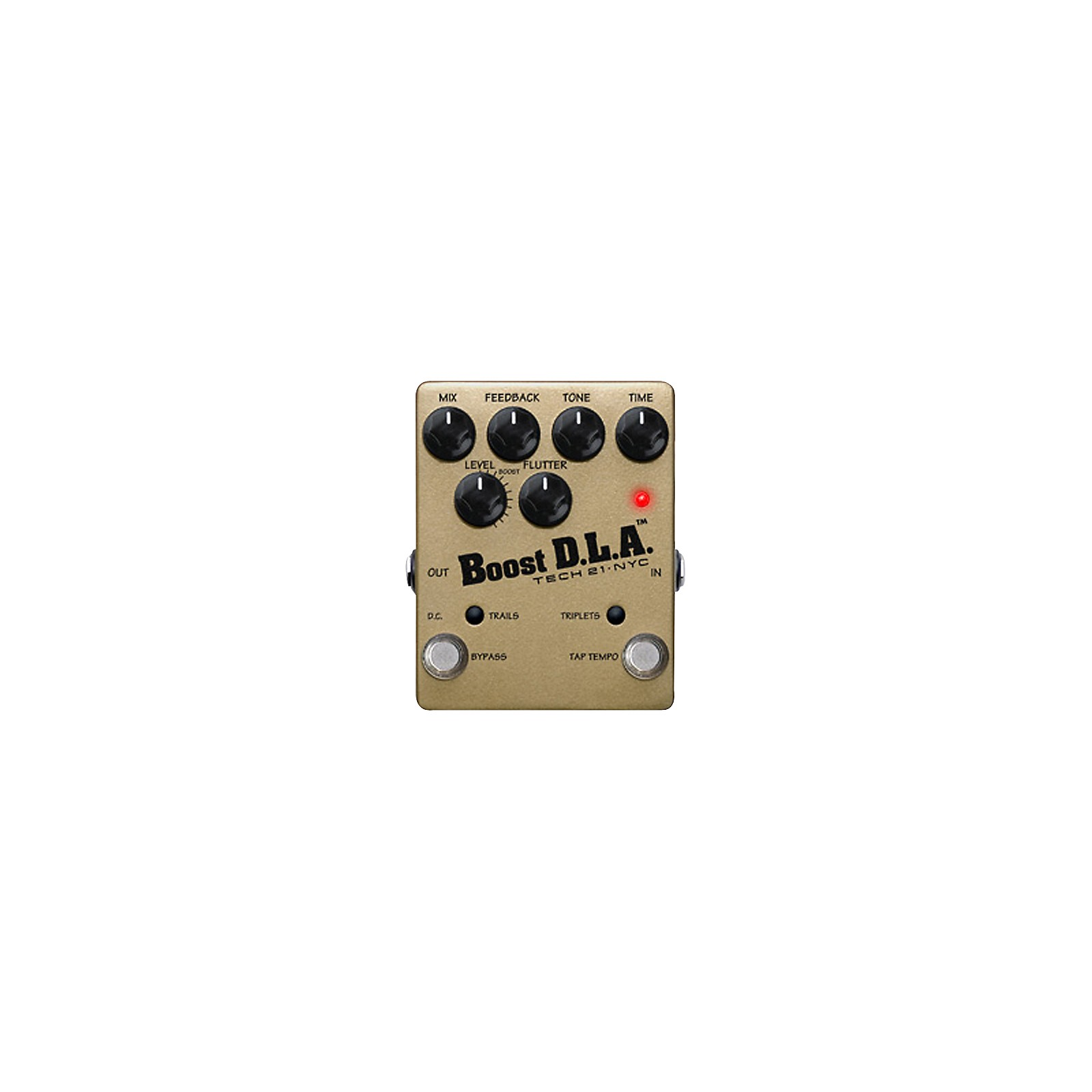 Tech 21 DLA-TT Boost D.L.A. Tap Tempo Guitar Effects Pedal