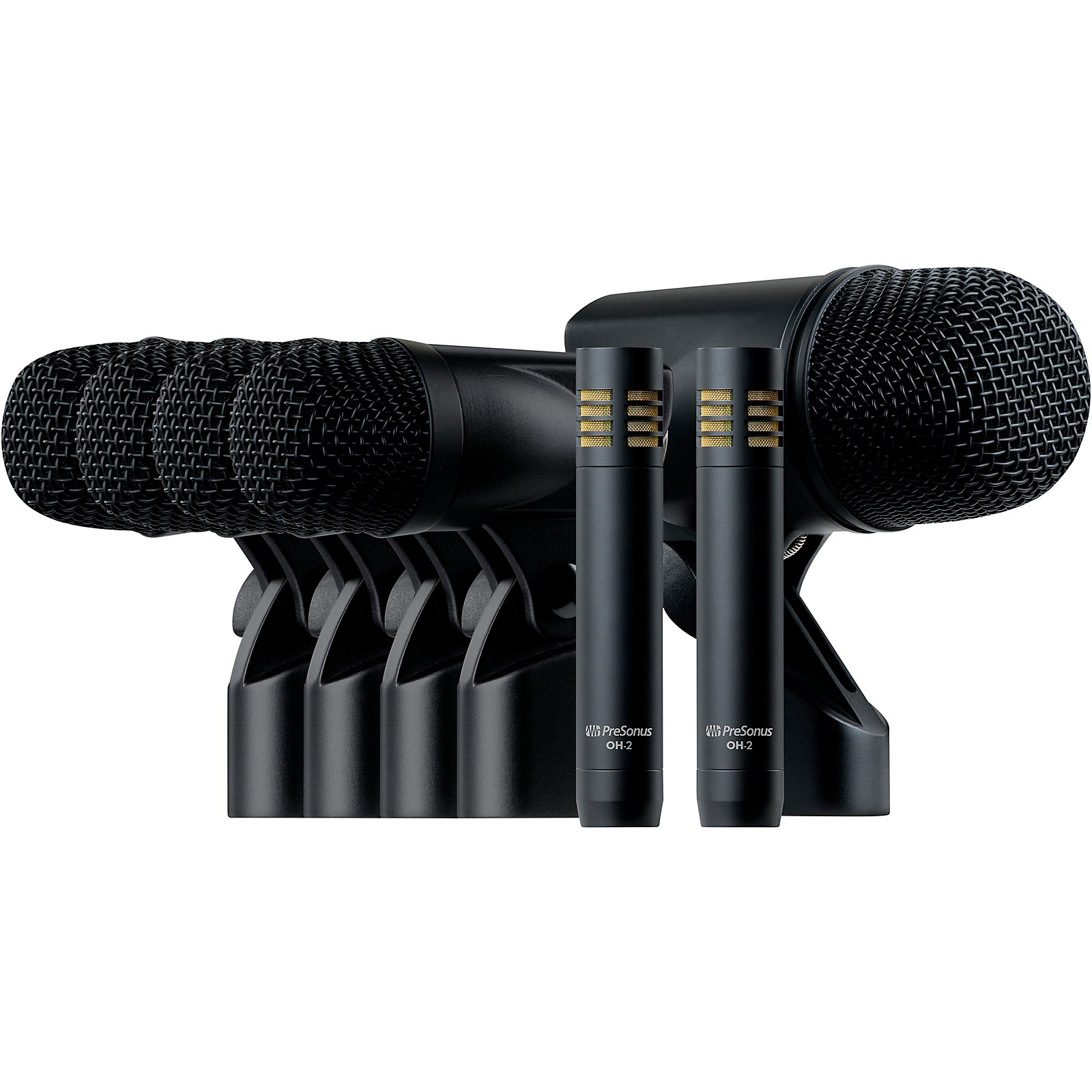 Presonus DM-7 Seven-Piece Drum Microphone Set w Case