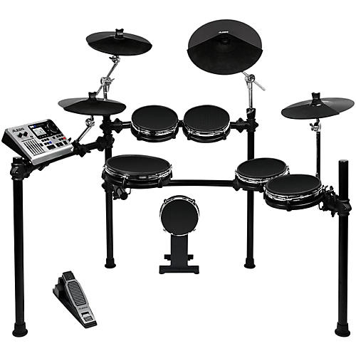 alesis dm10 studio electronic drum kit with mesh heads musician s