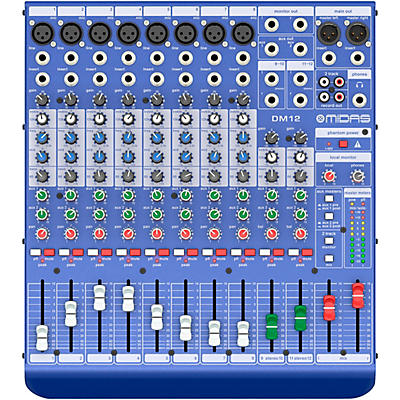 Midas DM12 12-channel Analog Mixer