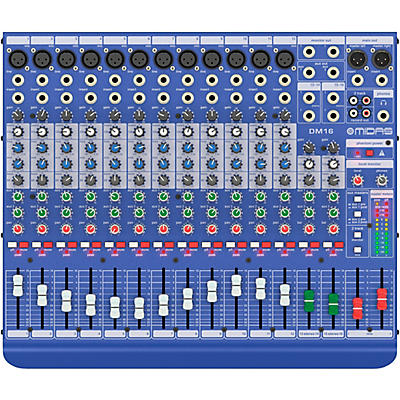 Midas DM16 16-channel Analog Mixer