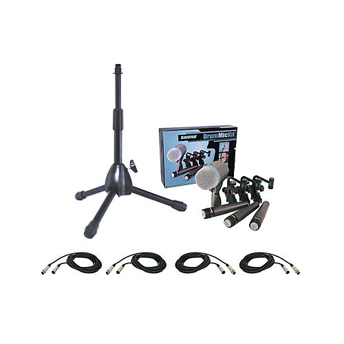 Shure DMK57-52 Drum Mic Package