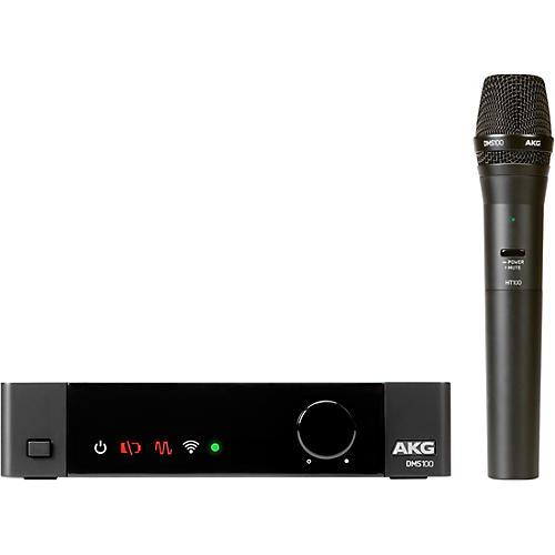 AKG DMS100 Digital Wireless Vocal Microphone Set Condition 1 - Mint  Black