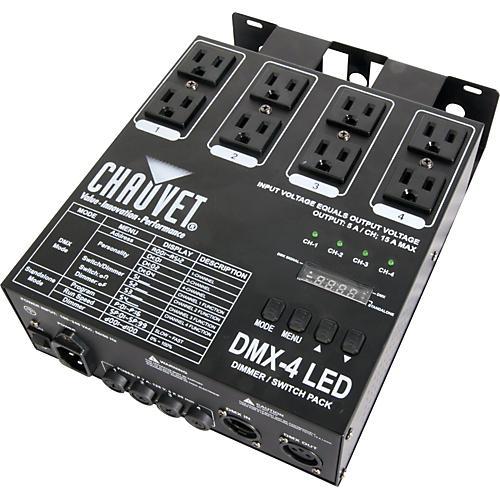 CHAUVET DJ DMX-4 LED Dimmer Switch Pack