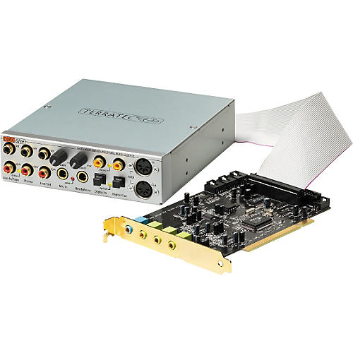 TERRATEC Sound Card SoundSystem DMX Drivers for Windows 10