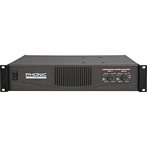 Phonic DMX1501 1500 Watt Power Amplifier