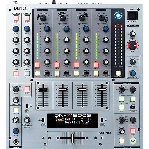 Denon DN-X1500S 4-Channel DJ Mixer