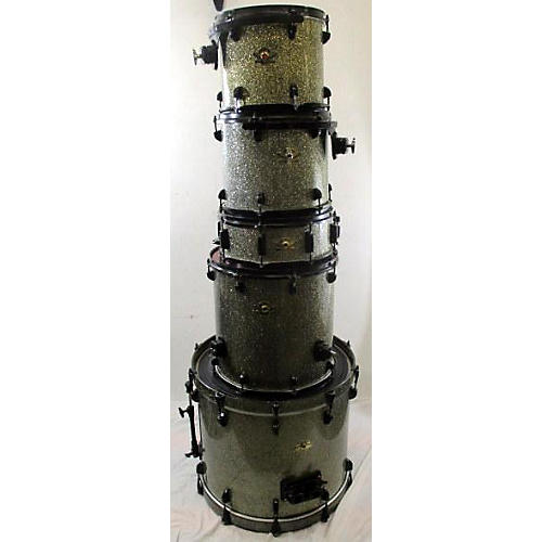 Peace DNA Series Drum Kit Green Sparkle