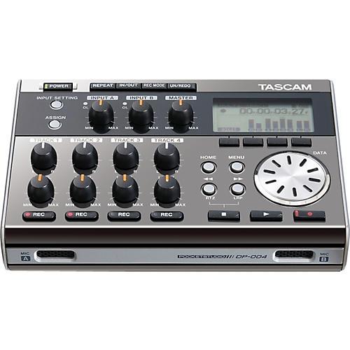 Tascam DP-004 Portable 4-track Digital Multi-track Recorder Ltd Edition