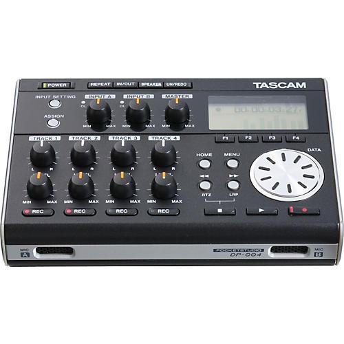 Tascam DP-004 Portable 4-track Digital Multi-track Recorder