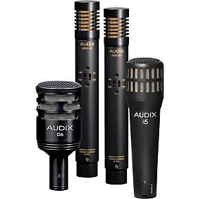 audix dp quad 4 piece drum mic pack musician 39 s friend. Black Bedroom Furniture Sets. Home Design Ideas