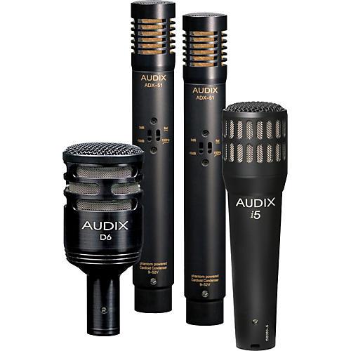 Audix DP-QUAD 4-Piece Drum Mic Pack