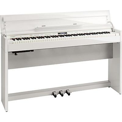 Roland DP603 Digital Home Piano Polished White