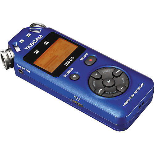 Tascam DR-05 Solid State Recorder Blue Ltd Edition Blue
