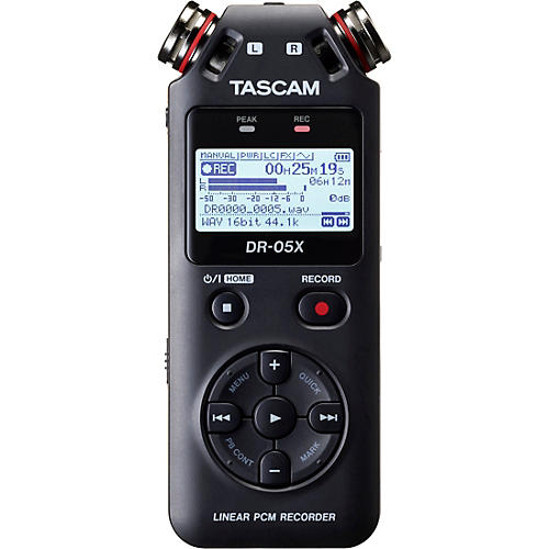 Tascam DR-05X Portable Digital Recorder