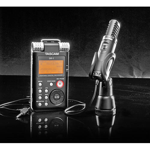tascam dr 1 field recording pack with tm st1 microphone musician 39 s friend. Black Bedroom Furniture Sets. Home Design Ideas