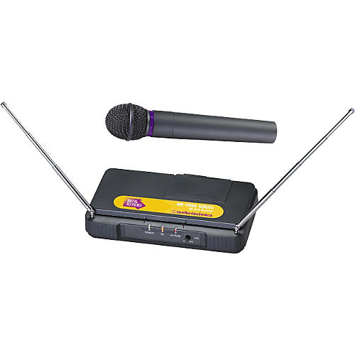 digital reference dr 1600 dynamic handheld wireless microphone system musician 39 s friend. Black Bedroom Furniture Sets. Home Design Ideas